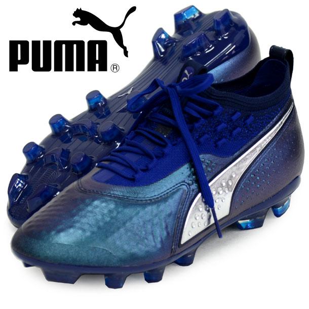 プーマ ワン 1 レザー HG【PUMA】プーマサッカースパイクシューズ(104738-02)*10