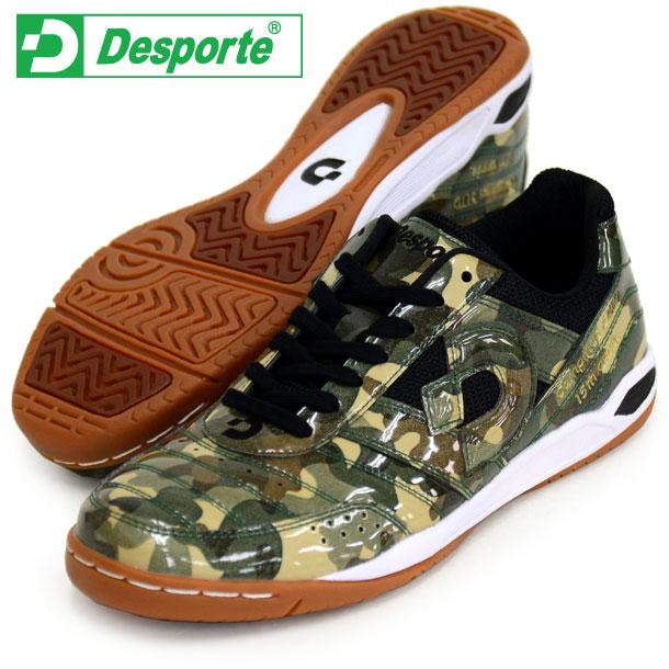 カンピーナス 3 LTD【Desporte】デスポルチ フットサルシューズ インドア18FW(DS1531-8990 CAMO/BLK)*21