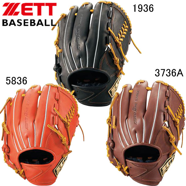 少年軟式用 ZEROONESTAGE 投手用【ZETT】ゼット 野球 少年グラブ 18FW(BJGB71930)*20