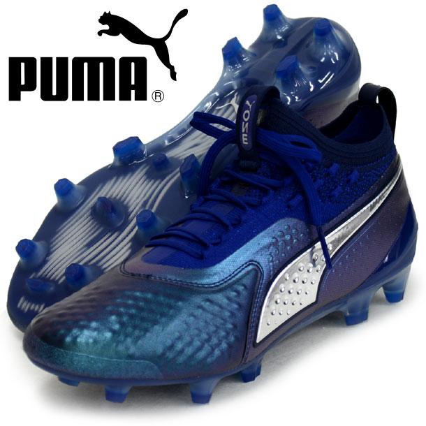 プーマ ワン 1 レザー FG/AG【PUMA】プーマ サッカースパイクシューズ18FW (104735-03)*10