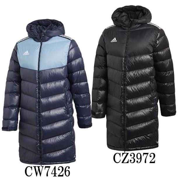 TANGO CAGE ダウンコート【adidas】アディダス ● サッカー ベンチコート18FW (EUV39)*47