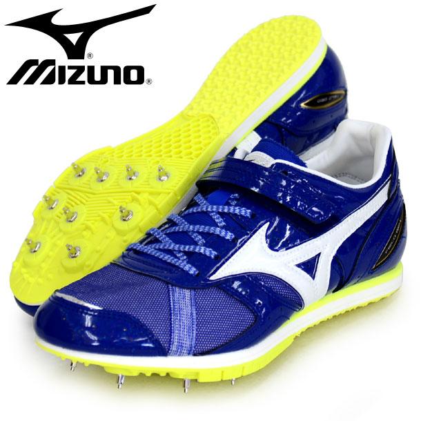 フィールドジオ AJ-B 【MIZUNO】ミズノ 陸上競技 陸上スパイク 跳躍専用 19SS (U1GA194101)*23