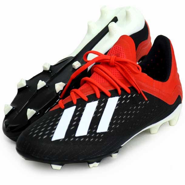 エックス 18.1 FG/AG J 【adidas】アディダス ジュニア サッカースパイク X 19SS(BB9351)*10