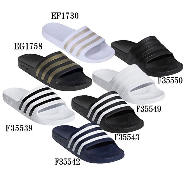 アディダス サンダル メンズ アディレッタ アクア adidas スポーツサンダル ADILETTE 37 永遠の定番 EG1758 F35549 F35542 F35543 F35539 F35550 EF1730 年末年始大決算