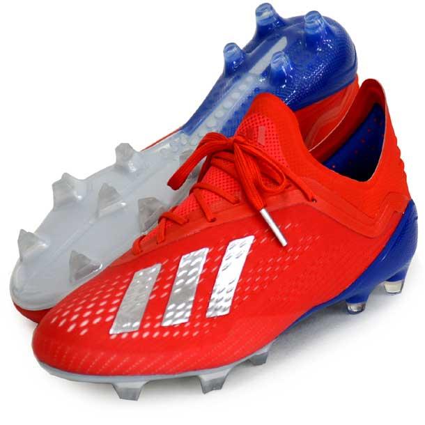 エックス 18.1 FG/AG 【adidas】アディダス サッカースパイク X 19Q1(BB9347)*10