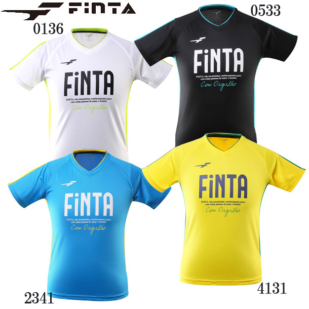 プラクティスシャツ ジュニア Jr FINTA フィンタ JR サッカー ウェア FT8155 日本 フットサル 69 新作 大人気 19SS プラシャツ