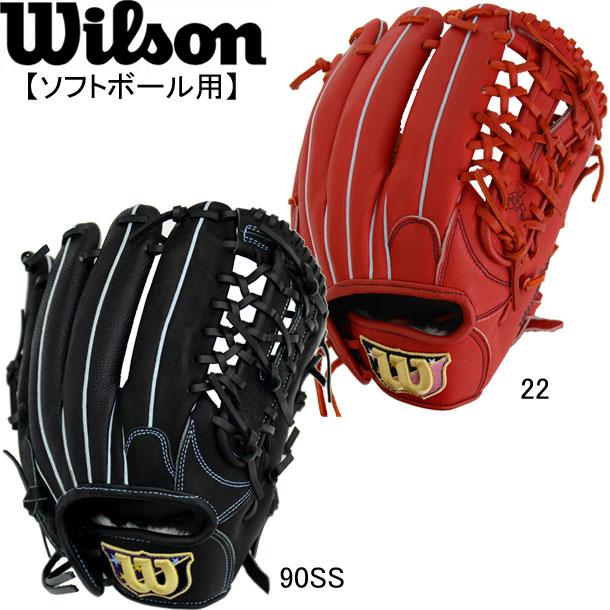 女子ソフトボール用 Wilson Bear オールラウンド用 【WILSON】ウィルソン ソフトボールグラブ 19SS(WTASBS55F)*21