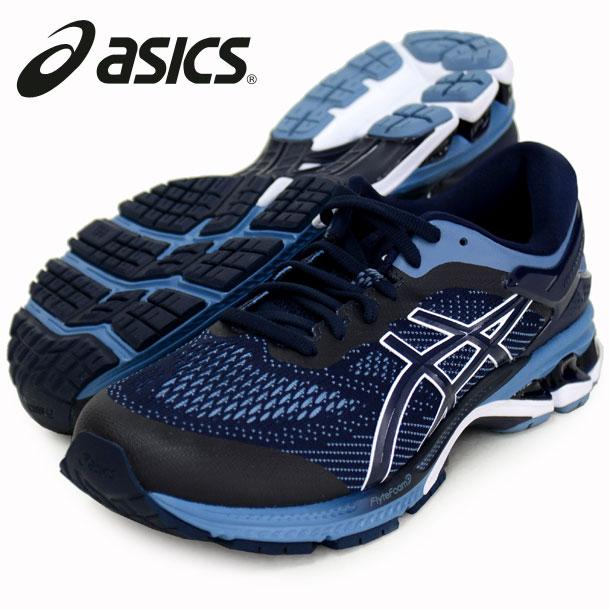 GEL-KAYANO 26-EW【ASICS】●アシックスRUNNING FOOTWEAR ROAD19AW (1011A536-400)*38