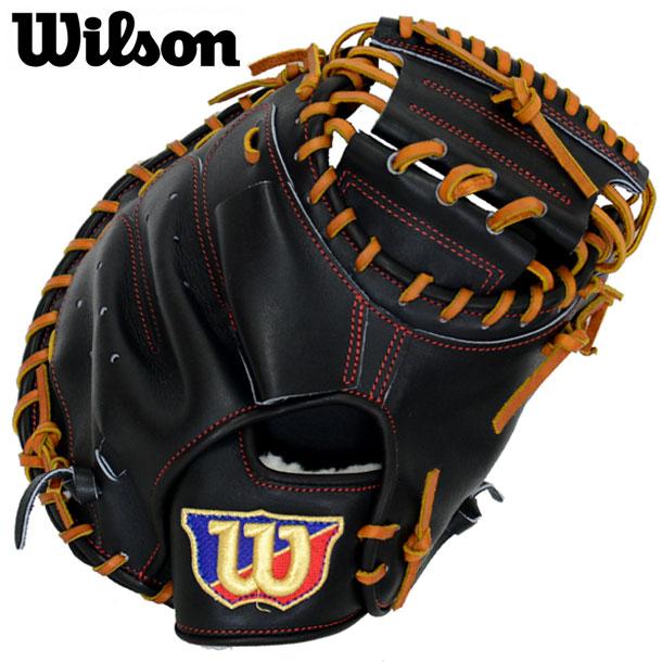 硬式用 Wilson Staffキャッチャーミット2B型※グラブ袋付き 【WILSON】ウィルソン 野球 Wilson Staffシリーズ 19FW(WTAHWF2BZ)*21