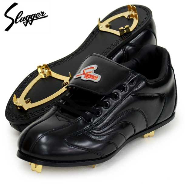 アグレッシブLP1-S 【Slugger】スラッガー 野球 革底 金具スパイク 19FW(D-421)*20
