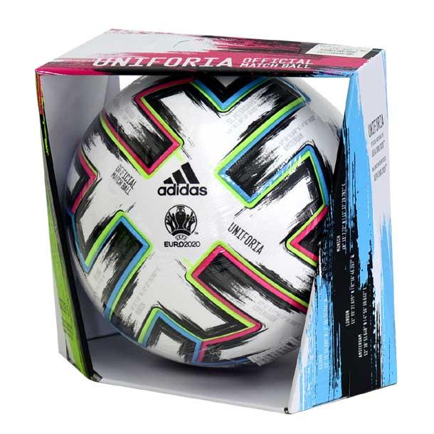 ユニフォリア 試合球 UEFA EURO2020 公式試合球 【adidas】アディダス 国際公認球・検定球 サッカーボール 5号球 20SS(AF520)*25
