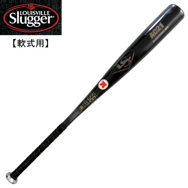 一般軟式用バット AC21【louisville slugger】ルイスビルスラッガー 野球 一般軟式用バット 19FW(WTLJRB20A)*20