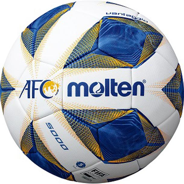 ヴァンタッジオ AFC 試合球【molten】サッカーボール5号球国際公認球 検定球20SS(F5A5000-A)*20