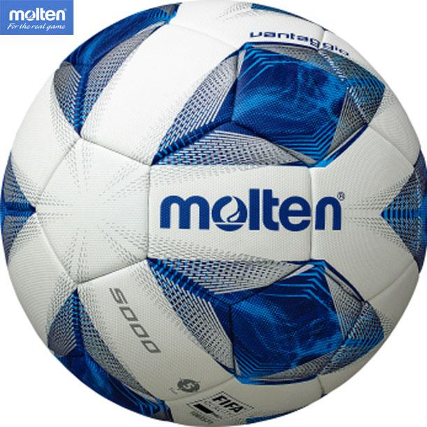 ヴァンタッジオ【molten】サッカーボール5号球国際公認球 検定球20SS(F5A5000)*20