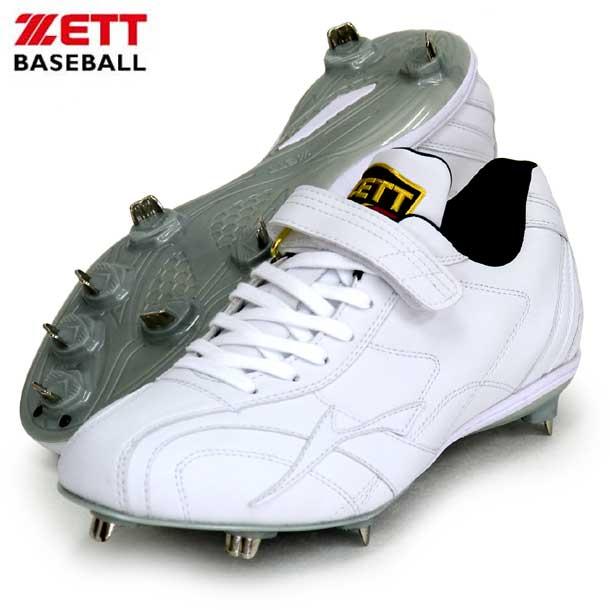 金具スパイク プロステイタス 【ZETT】ゼット 野球 ソフト スパイク 金具埋め込み 20SS (BSR2976WH-1111)*25