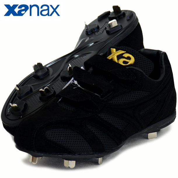 トラストCL【XANAX】ザナックス 野球 ベルト式 樹脂底 金具スパイク 20SS(BS323CL-9090)*10