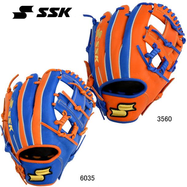 軟式グラブ スーパーソフト オールラウンド用【SSK】エスエスケイ 軟式野球グラブ20SS(SSGRC24)*20