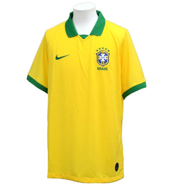 ブラジル代表 2019 ブラジル 1ST 半袖 レプリカ ユニフォーム CPA 【NIKE】ナイキ サッカー レプリカユニホーム 19SS(AJ5026-750)*20