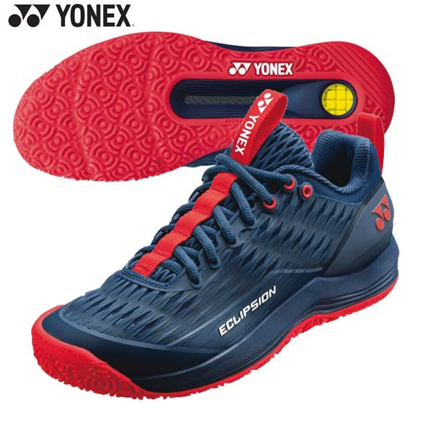 パワークッションエクリプション3メンGC 【Yonex】ヨネックス テニスシューズクレー・砂入り人工芝コート用 (SHTE3MGC)*20