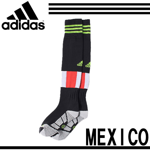 墨西哥代表家復製品短襪愛迪達墨西哥長筒絲襪(MGM10-M35987)<※0>