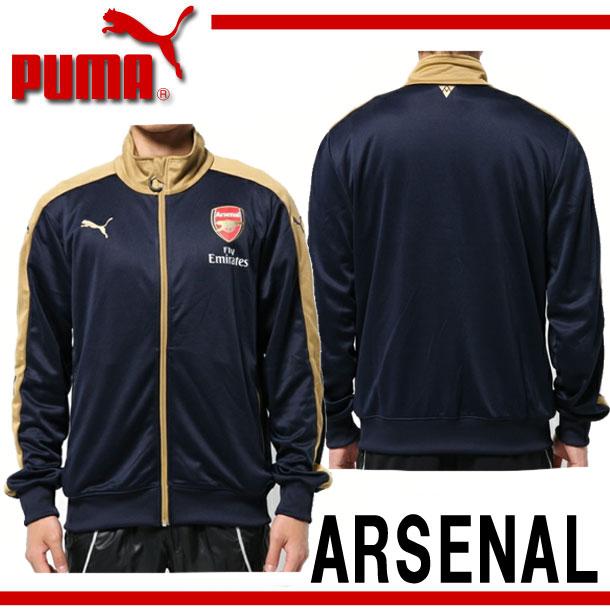 Arsenal black jacket puma