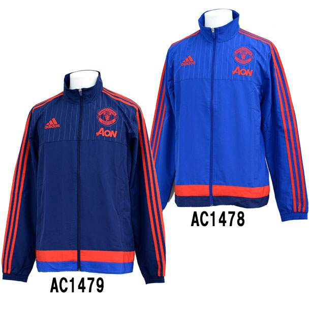 Evidence MSRP is provided based on the product tag maker adidas Manchester  United FC presentation jacket