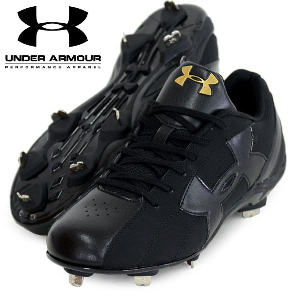 UAダイナプレイ2 LOW【UNDER ARMOUR】アンダーアーマー 野球スパイク 16SS(1278947-BLK/BLK)<>*00