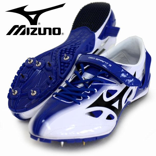 ジオスプリント 3【MIZUNO】 ミズノ 陸上スパイク 100・400mハードル用 短距離専用 17SS(U1GA171009)*41