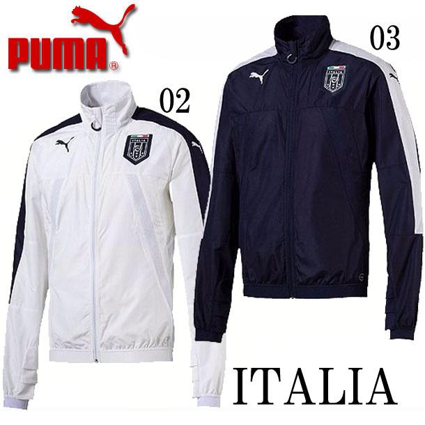 イタリア代表FIGC ITALIAスタジアムジャケット ベント【PUMA】プーマ レプリカウェア17SS(750748)*20