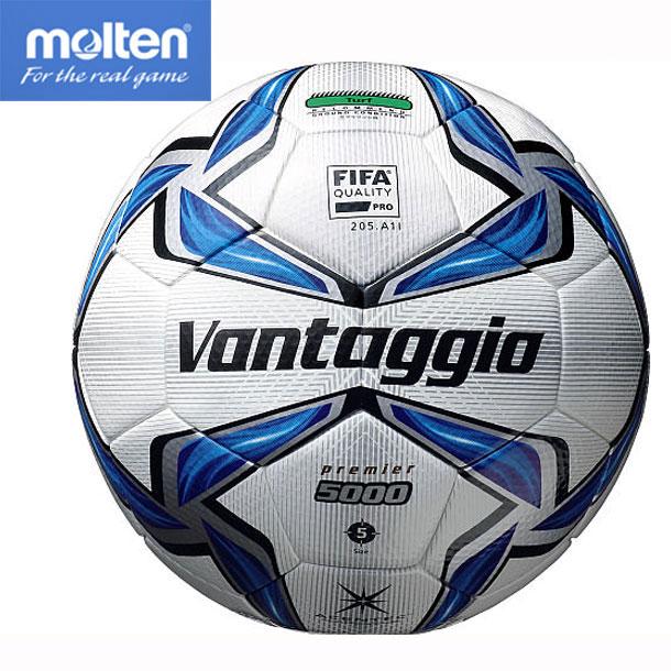 ヴァンタッジオ5000プレミア【molten】サッカーボール5号球 JFA検定球 17SS(F5V5003)*20