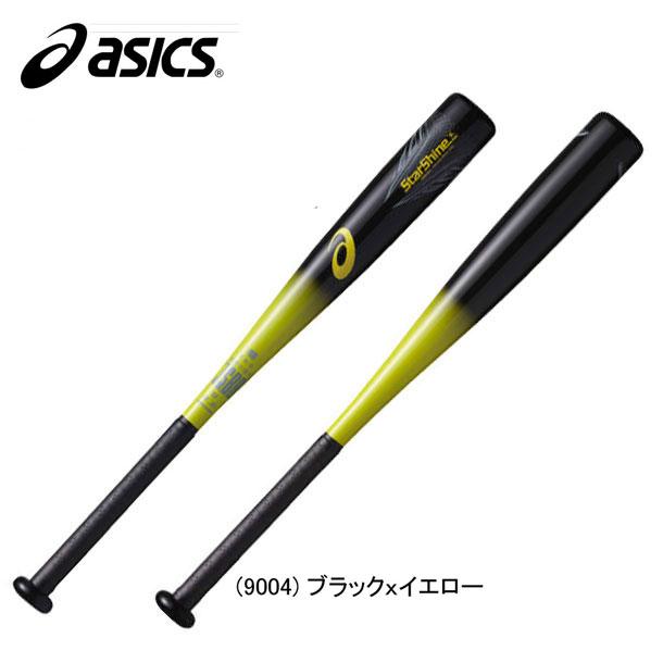 少年軟式用 スターシャイン【asics】アシックス 少年軟式FRP製バット17SS(BB8504)*25