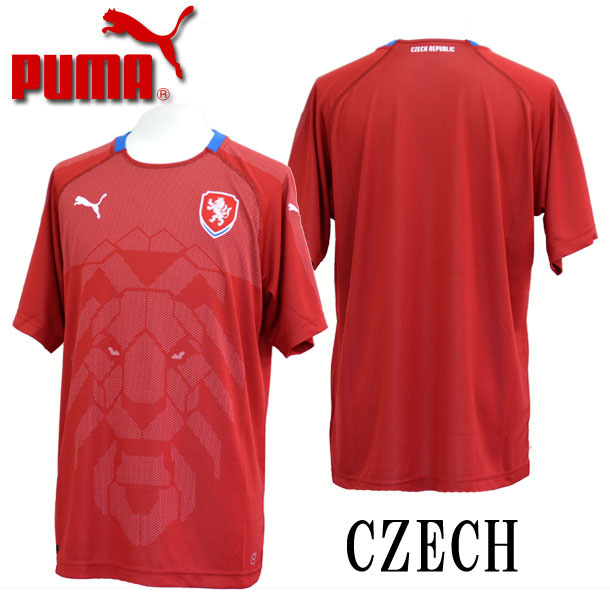 チェコ SS ホームレプリカシャツ 2018【PUMA】プーマ サッカー レプリカシャツ18SS(752541-01)*00