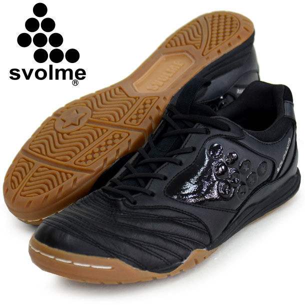 SOLDANTE-2 ブラック 【svolme】スボルメ フットサル インドアシューズ 18SS(181-69661-black)*00