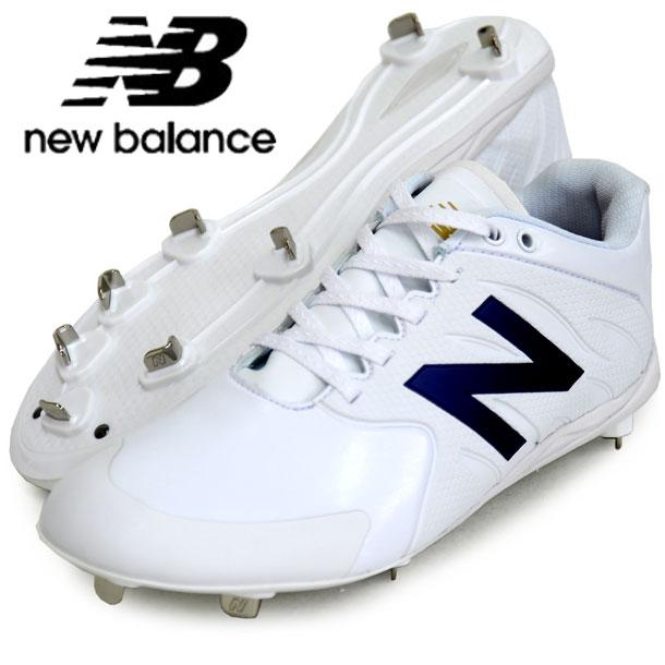 ベースボールスパイク AB100 BK2【New Balance】ニューバランス 野球金具スパイク 18SS(AB100WT22E)*22