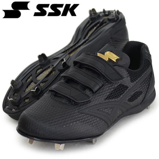 マキシライトV-2-V【SSK】エスエスケイ野球 スパイク 埋込金具18FW (ESF3006-9090)*20