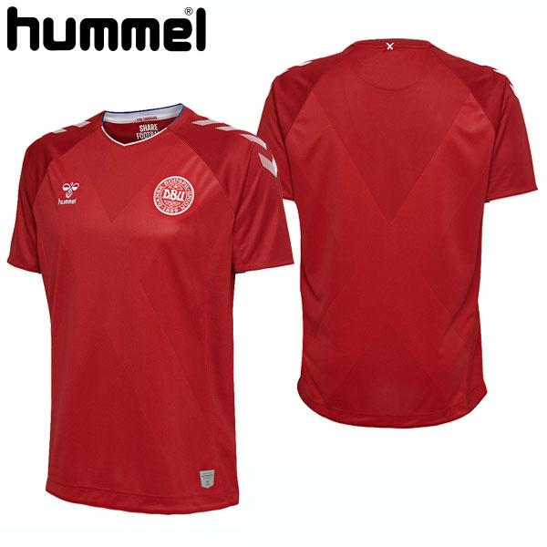 デンマーク代表2018ホームユニフォーム DBU HOME JERSEY【hummel】ヒュンメル サッカー レプリカウェア18SS(HM202503)*00