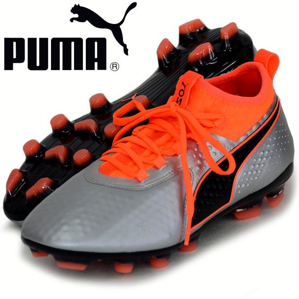 プーマ ワン 2 レザーHG【PUMA】プーマ サッカースパイク18FW(104742-01)*10