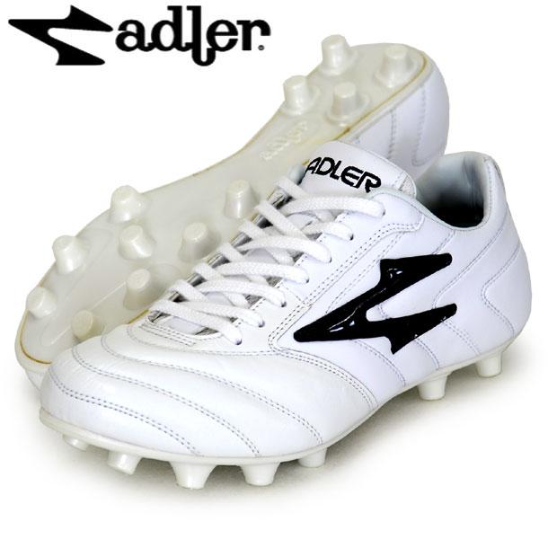 レッジオ X MS【adler】アドラー サッカースパイク18FW(AD183-WHT/BLK)*20