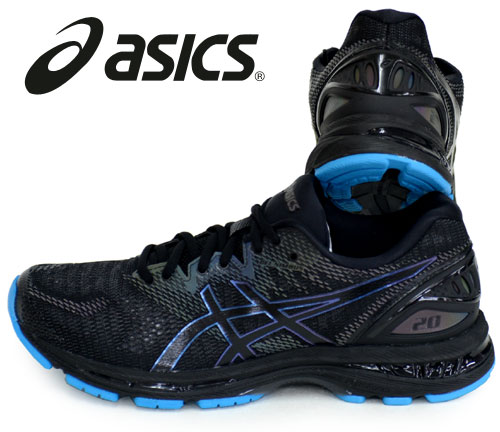 GEL NIMBUS 20 LITE SHOW ASICS RUNNING FOOTWEAR ROAD 18AW(1011A043 001) *39