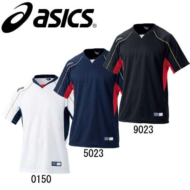 アシックス asics 新作からSALEアイテム等お得な商品満載 ベースボールTシャツ bad009 海外 ベースボールシャツ 野球ウエア 27 14SS BAD009