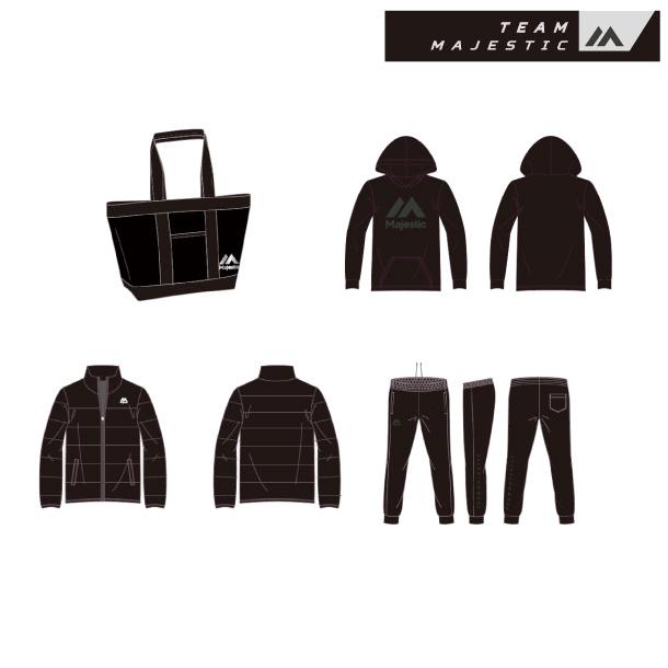 マジェスティック 福袋 2019【Majestic】マジェスティック野球 福袋 (XM13-TMJ-0028-BL)*00