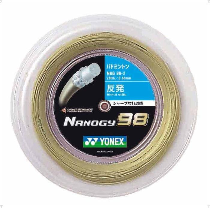 ナノジー98(200M)【YONEX】ヨネックスガツト・ラバー(NBG982)*21