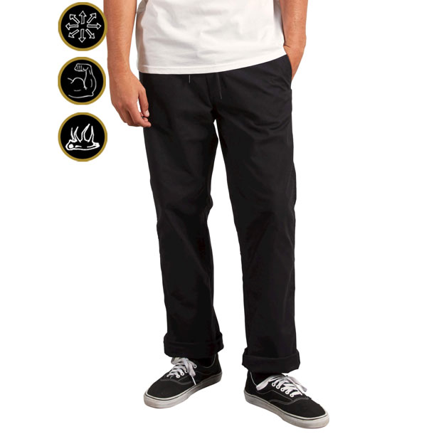 VSM Gritter Plus Pant【VOLCOM】ボルコムチノパン ズボン パンツ メンズA1131806-BLK*50