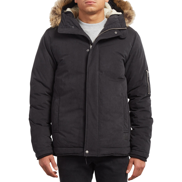 Goodman Jacket ジャケット 【VOLCOM】ボルコムMEN'S VOLCOM HEAVY JACKETSa1731707-blk*56