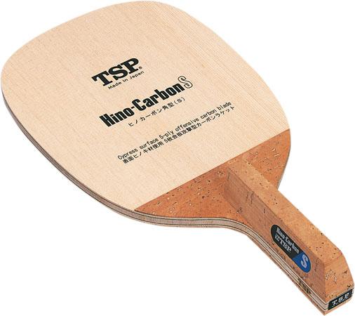 ヒノカーボンS【TSP】ティーエスピーペンホルダー卓球ラケット(21311)<発送まで2~3日掛かります。>*20