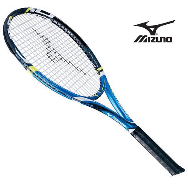 『フレームのみ』テニスラケット Fエアロ ミッドプラス(27ブルー×ブラック)【MIZUNO】ミズノテニス ラケット Fシリーズ(63JTH60127)*68