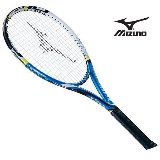 『フレームのみ』テニスラケット Fエアロ クォーター(27ブルー×ホワイト)【MIZUNO】ミズノテニス ラケット Fシリーズ(63JTH60227)*40