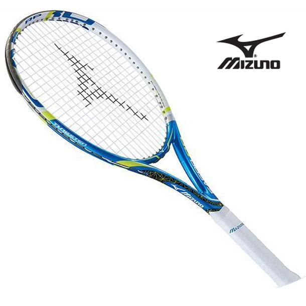 テニスラケット Fエアロ RP(27ブルー×ホワイト)【MIZUNO】ミズノテニス ラケット Fシリーズ(63JTH60327)*40