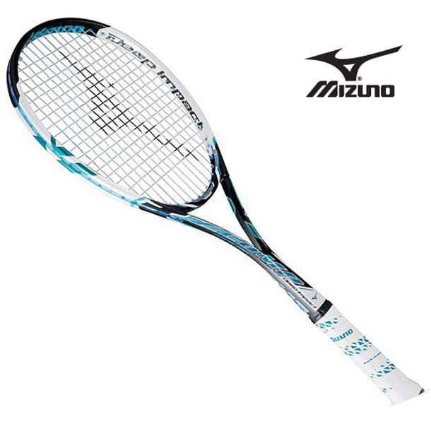 『フレームのみ』ソフトテニスラケット ディープインパクト Zコンプ(24ジェムブルー)【MIZUNO】ミズノソフトテニス(63JTN55024)*61