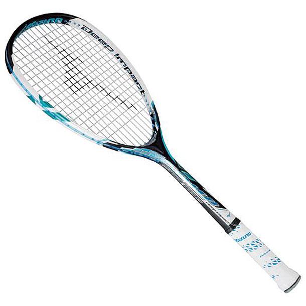 『フレームのみ』ソフトテニスラケット ディープインパクト Sコンプ(24ジェムブルー)【MIZUNO】ミズノソフトテニス(63JTN55124)*40